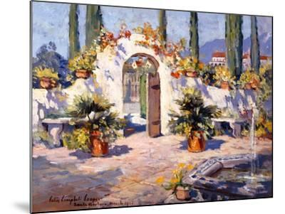 Spanish Arch-Colin Campbell-Mounted Art Print