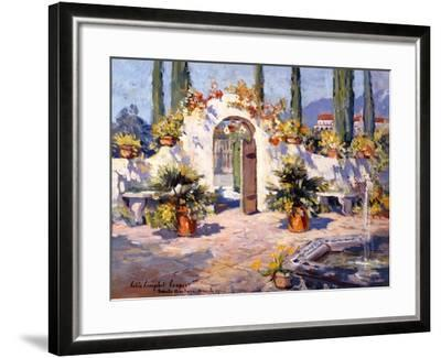 Spanish Arch-Colin Campbell-Framed Art Print