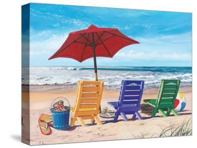 Beachy Keen-Scott Westmoreland-Stretched Canvas Print
