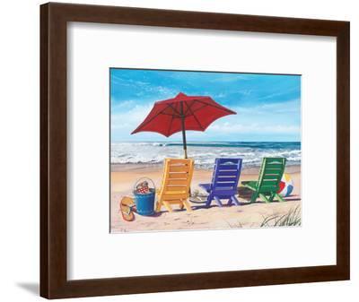 Beachy Keen-Scott Westmoreland-Framed Art Print