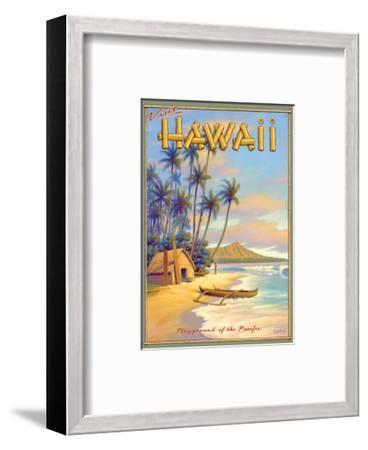 Playground of the Pacific-Kerne Erickson-Framed Premium Giclee Print