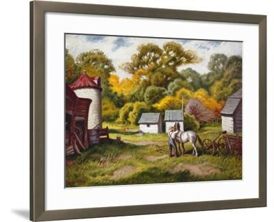 Early Fall-Stan Poray-Framed Art Print