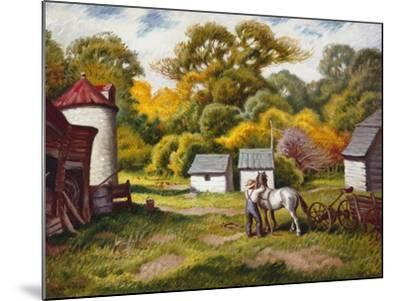 Early Fall-Stan Poray-Mounted Art Print