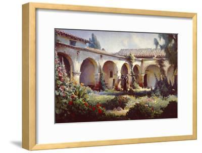 Mission San Juan Capistrano-Charles Austin-Framed Art Print