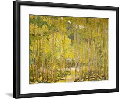 Aspen Forest-Oscar Berninghouse-Framed Art Print