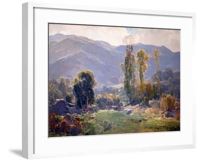 Langorous Summer-Hanson Puthuff-Framed Art Print