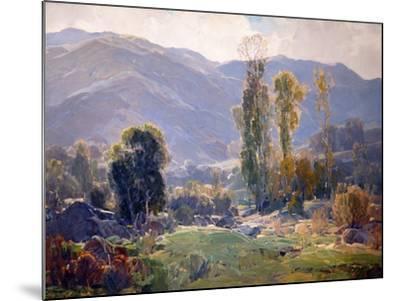 Langorous Summer-Hanson Puthuff-Mounted Art Print