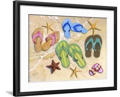Flip-Flip Family-Scott Westmoreland-Framed Art Print