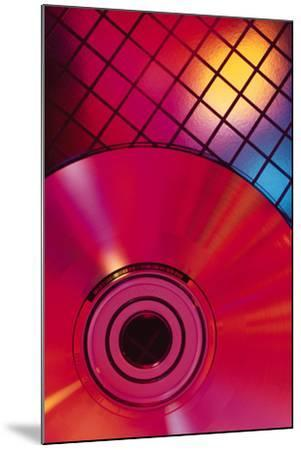 Compact Disc on Grid-Comstock-Mounted Photographic Print