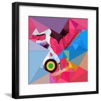 Digital Painting, Abstract Background-Andriy Zholudyev-Framed Photographic Print