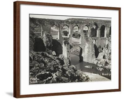 The Roman Aqueduct at Izmir (Smyrna), Turkey--Framed Photographic Print
