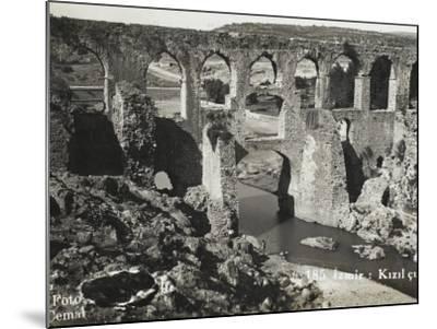 The Roman Aqueduct at Izmir (Smyrna), Turkey--Mounted Photographic Print