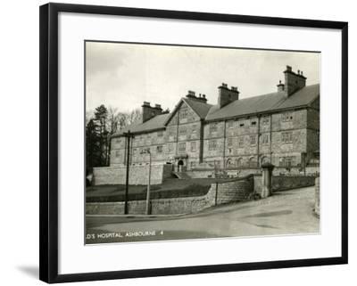 St Oswald's Hospital, Ashbourne, Derbyshire-Peter Higginbotham-Framed Photographic Print