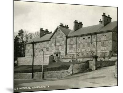 St Oswald's Hospital, Ashbourne, Derbyshire-Peter Higginbotham-Mounted Photographic Print