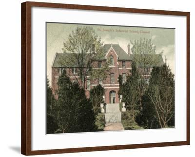 St Joseph's Industrial School, Clonmel, Tipperary, Ireland-Peter Higginbotham-Framed Photographic Print