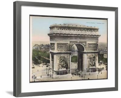 Arc De Triomphe--Framed Photographic Print