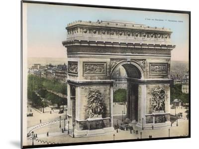 Arc De Triomphe--Mounted Photographic Print
