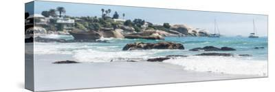 Awesome South Africa Collection Panoramic - Clifton Beach Cape Town VI-Philippe Hugonnard-Stretched Canvas Print
