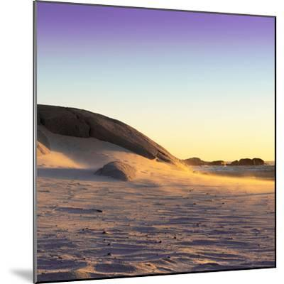 Awesome South Africa Collection Square - Sand Dune at Sunset II-Philippe Hugonnard-Mounted Photographic Print
