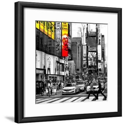 Safari CityPop Collection - Times Square Lion King IV-Philippe Hugonnard-Framed Photographic Print