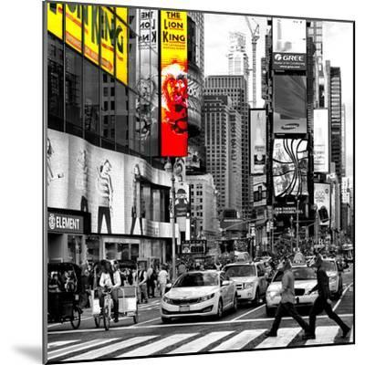 Safari CityPop Collection - Times Square Lion King IV-Philippe Hugonnard-Mounted Photographic Print