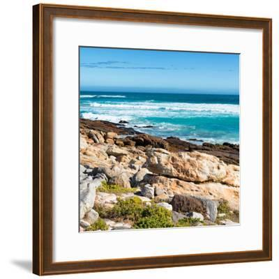 Awesome South Africa Collection Square - Natural Beauty - Cape Town II-Philippe Hugonnard-Framed Photographic Print