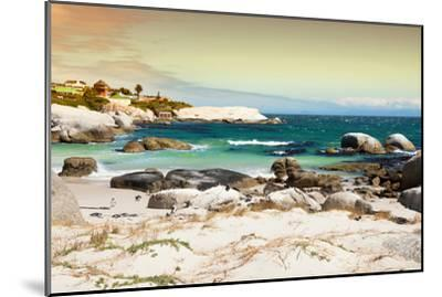 Awesome South Africa Collection - Boulders Beach at Sunset - Cape Town I-Philippe Hugonnard-Mounted Photographic Print