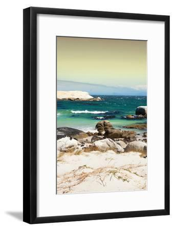 Awesome South Africa Collection - Boulders Beach at Sunset - Cape Town II-Philippe Hugonnard-Framed Photographic Print