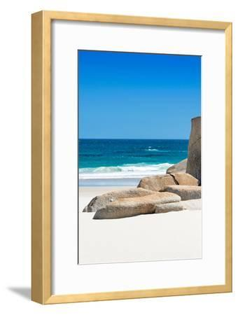 Awesome South Africa Collection - Boulders on the Beach II-Philippe Hugonnard-Framed Photographic Print