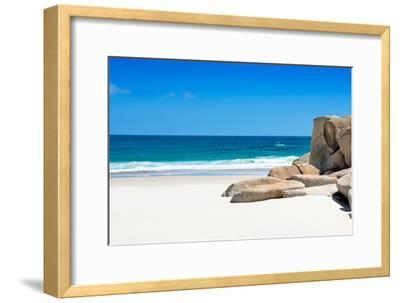 Awesome South Africa Collection - Boulders on the Beach I-Philippe Hugonnard-Framed Photographic Print