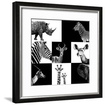 Safari Profile Collection-Philippe Hugonnard-Framed Photographic Print