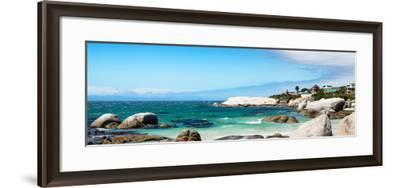 Awesome South Africa Collection Panoramic - Boulders Beach IV-Philippe Hugonnard-Framed Photographic Print