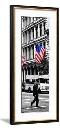 Safari CityPop Collection - Crossroad at Manhattan V-Philippe Hugonnard-Framed Photographic Print