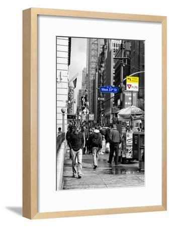 Safari CityPop Collection - Manhattan West 33rd Street II-Philippe Hugonnard-Framed Photographic Print