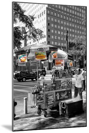 Safari CityPop Collection - NYC Hot Dog with Zebra Man-Philippe Hugonnard-Mounted Photographic Print