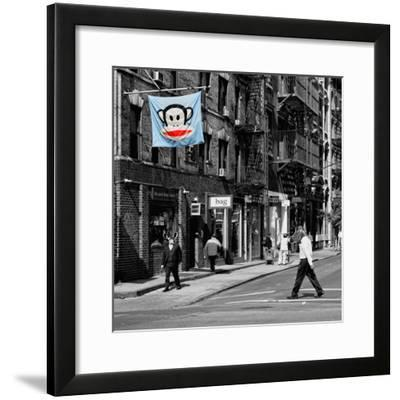 Safari CityPop Collection - Animal Kingdom in Manhattan II-Philippe Hugonnard-Framed Photographic Print