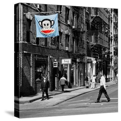 Safari CityPop Collection - Animal Kingdom in Manhattan II-Philippe Hugonnard-Stretched Canvas Print
