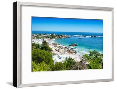 Awesome South Africa Collection - Clifton Beach Cape Town-Philippe Hugonnard-Framed Photographic Print