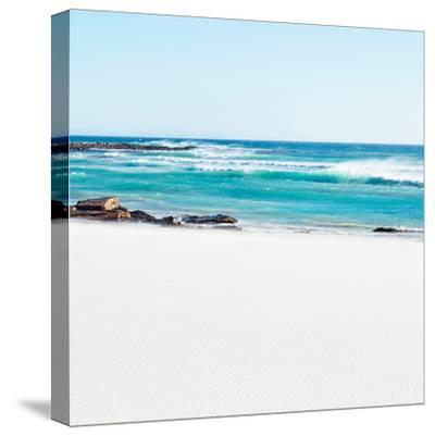 Awesome South Africa Collection Square - White Sand-Philippe Hugonnard-Stretched Canvas Print