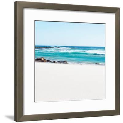 Awesome South Africa Collection Square - White Sand-Philippe Hugonnard-Framed Photographic Print