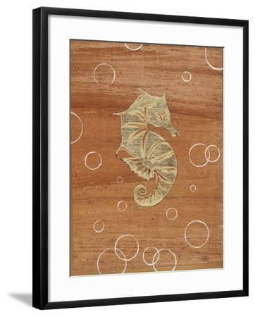 Ocean Style Seahorse-Hart Hart-Framed Giclee Print
