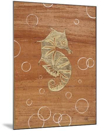 Ocean Style Seahorse-Hart Hart-Mounted Giclee Print