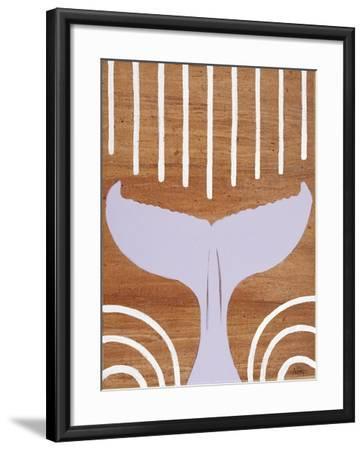 Ocean Style Whale Tail-Hart Hart-Framed Giclee Print