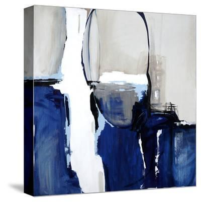 Leaving at Midnight-Sydney Edmiunds-Stretched Canvas Print