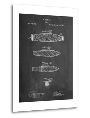 Cigar Tobacco Patent-Cole Borders-Metal Print