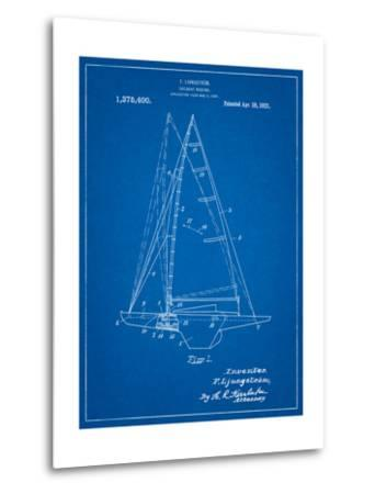 Ljungstrom Sailboat Rigging Patent-Cole Borders-Metal Print