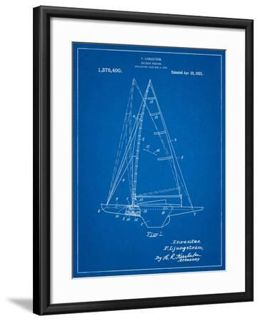 Ljungstrom Sailboat Rigging Patent-Cole Borders-Framed Art Print