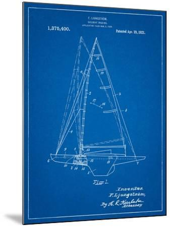 Ljungstrom Sailboat Rigging Patent-Cole Borders-Mounted Art Print