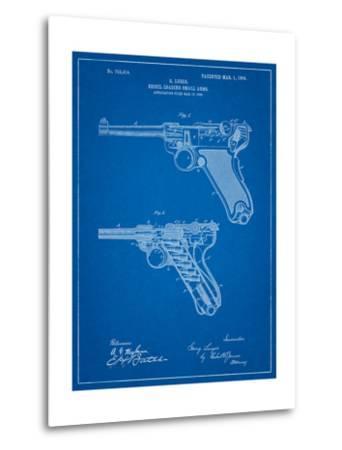 Luger Pistol Patent-Cole Borders-Metal Print