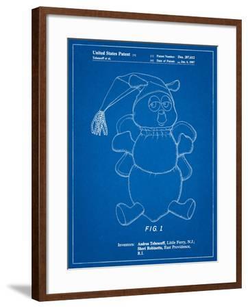 Stuffed Animal-Cole Borders-Framed Art Print